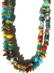 Necklace Rainbow Multistone Sand Rhyme for IMPERIO jp
