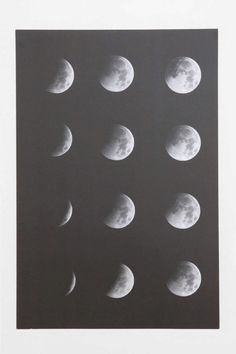 Moon Phase Poster | @giftryapp