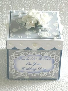 Wedding explosion box.