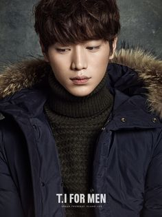 Seo Kang Joon for T.I for Men Fall/Winter 2014 Ad Campaign
