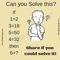 Logical Reasoning Puzzle Question with Answer-Puzzles Riddles Brainteasers Math Puzzles Brain Teasers, Math Logic Puzzles, Math Quizzes, Mind Puzzles, Brain Teasers For Kids, Puzzles For Kids, Maths Riddles, Chess Puzzles, Math Worksheets