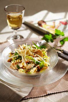 Pasta mit Lauch und Shiitake I © GUSTO / Stefan Liewehr I www.gusto.at