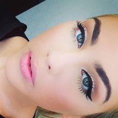 Beautiful everyday makeup look