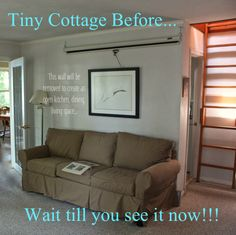 Cottages are such special places… this tiny gem needed an update for a growing family… you won't believe the transformation!! Seriously… You won't believe it!! :) http://cynthiaweber.com/cottage-reveal-little-gem-lake-huron-gets-dressed/