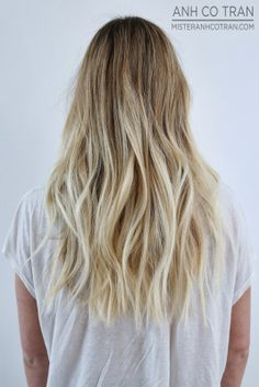 LA: EXTREMELY LONG AND EXTREMELY BEAUTIFUL. Cut/Style: Anh Co Tran. Appointment inquiries please call Ramirez|Tran Salon in Beverly Hills: 310.724.8167