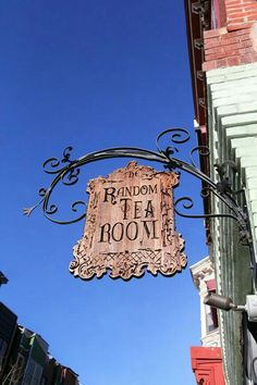 Local Gem: The Random Tea Room and Curiosity Shop : On the corner of North Fourth Street and Fairmount Ave in Northern Liberties is a place that feels like home. Oh The Places You'll Go, Places To Visit, Gomez, Curiosity Shop, Shop Signs, Pub Signs, Adventure Is Out There, Day Trips, Trip Planning