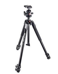 Black Camera Tripod Portable Professional Travel Aluminium Tripod Monopod with Ball Head for Digital Camera Color : Silver