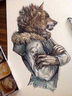 Wolf Beast by WolfSkullJack on DeviantArt