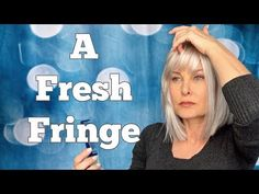 A Fresh Fringe - New Haircut PLUS Customizing Toppers - ThinHairThick and Uniwigs - YouTube