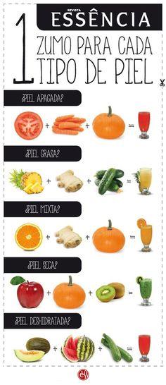 Alimentos que ayudan a cuidar tu piel