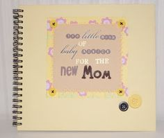 Cuaderno para la futura mama... Notebook for the future mum