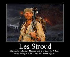 Survivorman, Les Stroud
