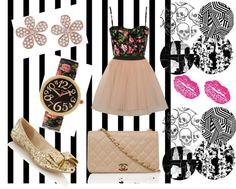 """""""Classic egyption style :)"""" by chahd ❤ liked on Polyvore"""
