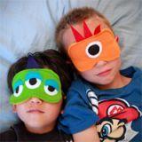 Easy Sew Monster Sleep Masks