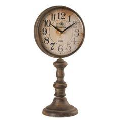 Wilco Round Table Clock on Pedestal