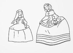 Vamos a trabajar Las Meninas Fíjate bien en este cuadro. Se llama Las Meninas o La familia de Felipe IV, y fue pintado por Velázquez. ... Colouring Pages, Coloring Sheets, Coloring Books, Artist Project, Art Programs, Art Activities, Teaching Art, Colorful Pictures, Art Inspo