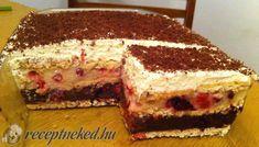Gyümölcsös is, kekszes is - csak finom lehet Hungarian Recipes, Hungarian Food, Tiramisu, Cheesecake, Paleo, Ethnic Recipes, Tej, Cukor, Hungary