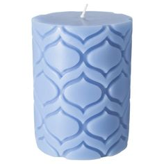 """Target Exclusive MELT Carved Scented Pillar 3x4"""""""