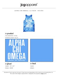 #alphachi #axo #alphachiomega #tiedye