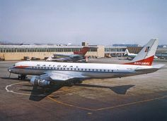 Antique Shop National Airlines DC-8-51 Display