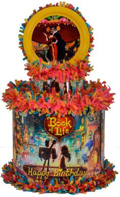 book of life party ideas | Home Personalized Pinatas The Book of Life Personalized Pinata