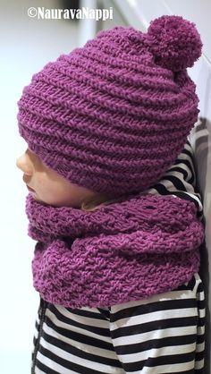 Perhelifestylepainotteinen blogi, jossa sisustetaan, ommellaan, tehdään käsitöitä ja hullaannutaan lastenvaatteisiin. Knitting For Kids, Baby Knitting Patterns, Crochet Baby, Knit Crochet, Crochet Needles, Kids Hats, Baby Accessories, Handicraft, Knitted Hats