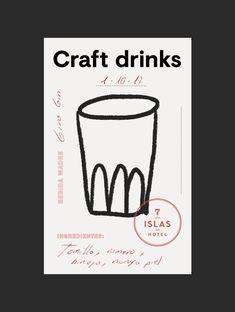 Best Packaging 7 Craft Drinks Studio images on Designspiration Creative Poster Design, Graphic Design Posters, Graphic Design Typography, Graphic Design Inspiration, Graphisches Design, Label Design, Layout Design, Print Design, Brand Identity Design