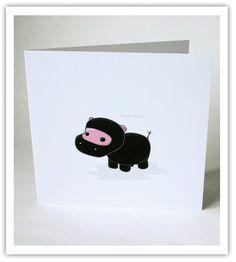 Ninja hippo card!