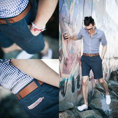 """""""135"""" by @thedoleboy! More looks: http://lb.nu/doleboy #ootd #casual #dapper #nautical #summer #menswear"""