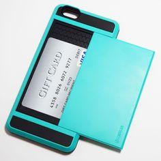 Light Blue iPhone 6 Plus / iPhone 6S Plus Storage Armor Case