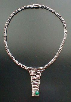 Relo zilveren collier