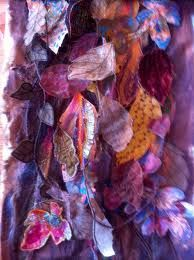 textile leaves - Google Search