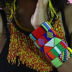 These Zulu beaded bracelets look fabulous in their different color combinations. Open at one end so they easily fit every wrist. Zulu Women, Black Marriage, Beaded Jewelry, Beaded Bracelets, African Accessories, Color Meanings, Beaded Embroidery, Spice Things Up, Color Combinations
