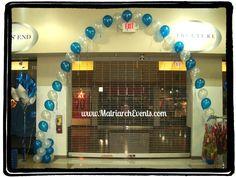 Balloon Arch @ Store Entrance