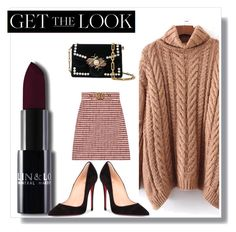 """look"" by eminaa123456 ❤ liked on Polyvore featuring Christian Louboutin, Gucci and Proenza Schouler"