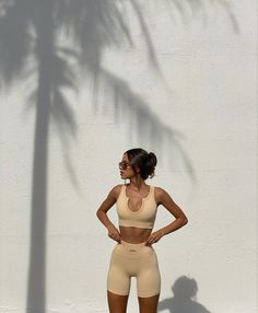 Mode Outfits, Trendy Outfits, Summer Outfits, Fashion Outfits, Gym Outfits, Body Inspiration, Fitness Inspiration, Looks Academia, Workout Aesthetic