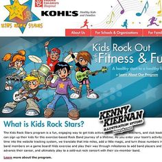 Kids Rock Stars #anime #manga #illustration #childrensillustration #digitalart #vectorart #vectorillustration #musician