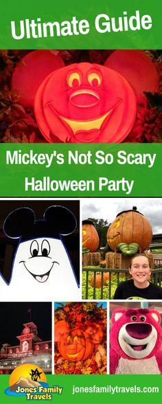 2017 Ultimate Guide to Mickey's Not So Scary Halloween Party at Disney World #disney #disneyworld #disneyhalloween #disneyworldhalloween