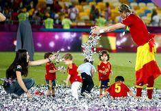 Fernando Torres meilleur buteur, certes, mais aussi meilleur animateur pour enfants.