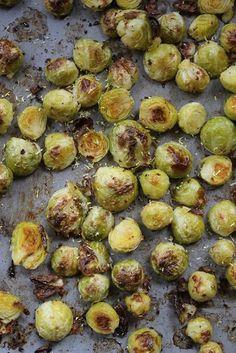 Ofengerösteter Rosenkohl | Gourmandises végétariennes | Bloglovin'