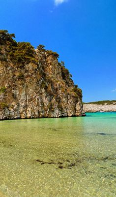 Greece Travel Inspiration - Voidokilia beach in Messinia, Peloponnese Places To Travel, Places To See, Places Around The World, Around The Worlds, Myconos, Holiday Places, Greece Travel, Greek Islands, Beach Trip