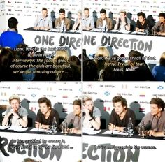 So this happened during the Press Conference and I couldn't stop laughing!