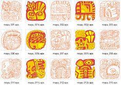mayan art for kids - Google Search