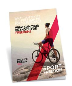 The team at Sport For Freedom have created an inspirational and stylish brand