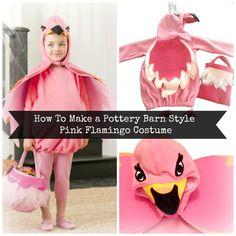 The Pink Veranda : Kid's Pink Flamingo Costume Tutorial