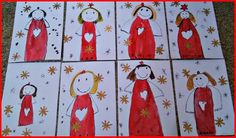 Marceline, Xmas Cards, Facebook, Winter, Advent, Illustrations, Christmas Ornaments, Craft, Draw