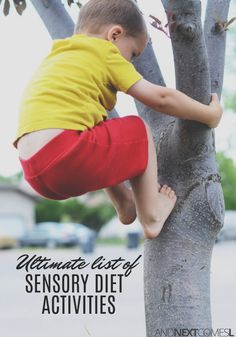 List of 50 easy sensory diet activities for kids from And Next Comes L Autism Sensory, Autism Activities, Sensory Activities, Therapy Activities, Infant Activities, Activities For Kids, Sensory Play, Sensory Tools, Sensory Integration Therapy