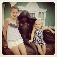 Chloe and Clara at Disney