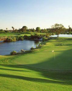 Golf Courses Glen Annie Golf Club, in Santa Barbara, CA! Famous Golf Courses, Public Golf Courses, Golf Push Cart, Golf Hotel, Augusta Golf, Golf Holidays, Santa Barbara, Golf Course Reviews, Golf Stores