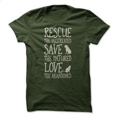 Rescue Them - #shirt for teens #cream sweater. PURCHASE NOW => https://www.sunfrog.com/Pets/Rescue-Them-61950082-Guys.html?68278